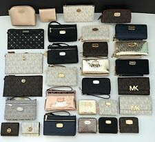 Michael Kors Signature Wristlet Wallet Cosmetic ~ Over 20 Different Choices!