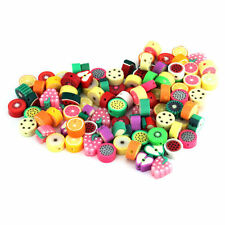 10mm Mixed Fimo Polymer Clay Cute Kids Beads Various Designs 20 pcs