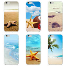 Beautiful Summer Beach Design Phone Case Cover for iPhone 7 Samsung S5 Beauty