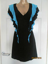 FRENCH CONNECTION Ruffle Party Dress    UK 8