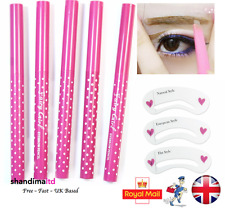 Waterproof Eyebrow Pencil Eye Brow Liner Makeup Tool Liner Shaper Stencil Card
