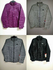 NEW Womens 2XL XL L The North Face Thermoball FZ Jacket Black Purple Grey