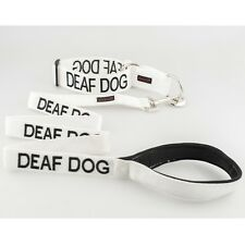 Deaf Dog Collar and Leash Set For Dogs S, M, L - Free Shipping