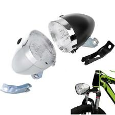 Vintage Retro Bike 3 LED Headlight Front Light Cycling Bicycle Lamp with Bracket