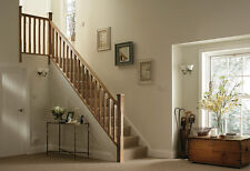 Oak Stop Chamfered Stair & Landing Balustrade Kits Select length and type