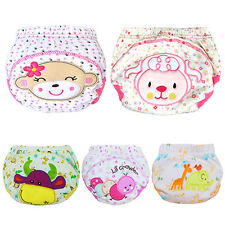 Baby Cotton Training Pants Reusable Cloth Washable Infant Nappies Diaper Optimal