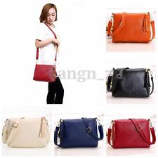 Women PU Leather Handbag Shoulder Bags Tote Messenger Bag Crossbody Clutch Purse