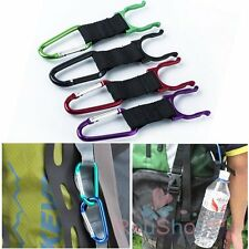 5~100PCS Water Holder Bottle Mineral Water Bottle Clip Keychain Hanging Buckle