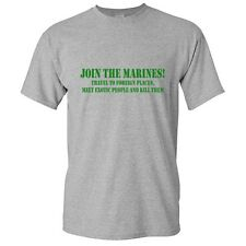 Join Marines Sarcastic Army Humor Graphic Gift Idea Cool Funny Novelty T Shirts