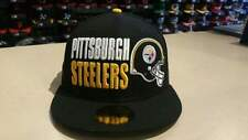 New Era NFL Pittsburgh Steelers Stack the Box Black 59Fifty Fitted Cap NewEra