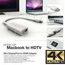 4K Mini DisplayPort to HDMI Adapter Cable MDP for Apple Macbook Macbook Pro iMac