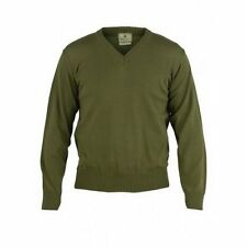 Beretta PU81 PP – Techwool II Sweater V Neck Shooting Hunting In Olive Green