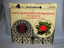 London SPC 21030 Great Rhapsodies For Orchestra Stanley Black Phase 4 Stereo !!!