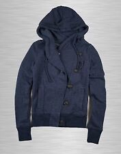 New Hollister Women's Button Front Fleece Hoodie Size XS, Small, Medium, Large