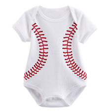 Newborn Baby Infant Boy Bodysuit Soccer Baseball Football Cotton Costume