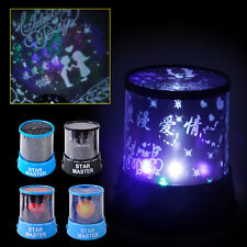 LED Starry Night Sky Projector Lamp Romantic Kids Gift Star light Cosmos Master