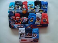 OFFICIAL BOYS PANTS  3 PACK BRIEFS DISNEY PHINEAS AND FERB, MARVEL SPIDER-MAN