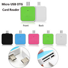 2 in1 Micro USB OTG Adapter SD TF Card Reader Connection For Smart Phones & PAD
