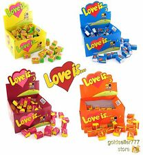 Love is... Chewing Gum 4 Boxes Many Variations Different Tastes 400 Pcs