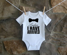 Tuxedo Bow Tie Babygrow Bodysuit Cute Baby Clothes New Baby Ideal Gift Boy Girl