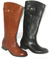 Clarks 'Mimic Dance' Black/Tan Leather knee high ladies Boots size 3, 4 RRP£120