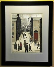 L.S. Lowry Print Framed 'The Steps, Irk Place' 1928