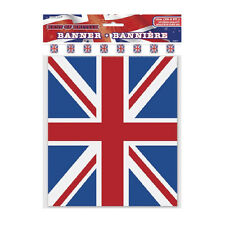 Union Jack Bunting 10m 32Ft Queen Royal Family Jubilee Celebration GB British