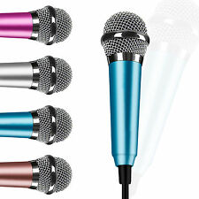 Mini 3.5mm Stereo Mic Microphone for Recorder PC Laptop MSN Skype Smart Phone