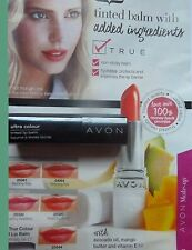 AVON ULTRA COLOUR TINTED LIP BALM ~ SIX  SHADES TO CHOOSE FROM ~ BRAND NEW