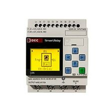 FL1F-H12RCE Smart relay LCD 12-24VDC 8 inputs with 4 analog 4 relays outputs eth