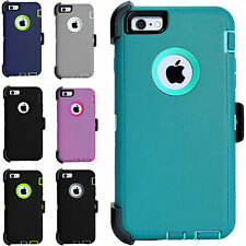 Cover For Apple iPhone 7/7 6S/PLUS Hard Case Hybrid Rugged Shockproof Protective