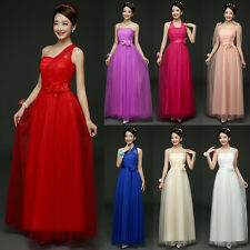 Women Multi Way Bridesmaid Long Dress Party Evening Cocktail Wedding Ball Gown