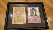 Jimi Hendrix 2 postcards Bill Graham Fillmore East / J.Hemersveld Shrine Show