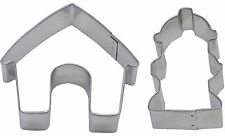 2 Piece Dog House & Fire Hydrant Cookie Cutter Set NEW! Treats!