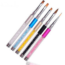 UV Gel Crystal Acrylic Painting Drawing Pen Polish Brush Pen Tool Nail Art Tips