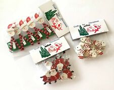 Christmas Craft Assorted Christmas Pegs - various design