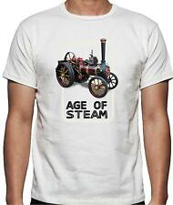 Age of Steam Traction Engine T Shirt 100% Cotton FREE UK P&P