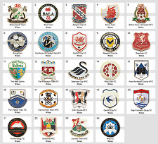 Badge Pin: European football clubs Wales Barry Newtown Cardiff Briton Ferry