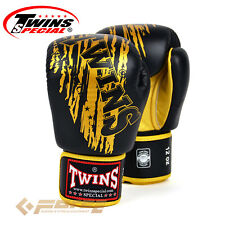 TWINS Pro Leather Gloves Gloves Muay Thai Kick Boxing MMA UFC  FBGV-TW3