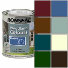 Ronseal Exterior Wood Paint - Woodland Trust Colours 750ml