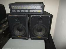 """Squier by Fender 4 Channel Portable PA System W/ 10"""" Speakers"""