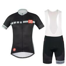 castelli 3T Cycling Jersey and Bib Shorts Set 2016 new