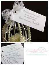 WEDDING ADVICE WORDS OF WISDOM TRIVA GAME FAVOUR GUEST BOOK WISH TREE TAGS CARDS
