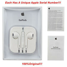 Genuine Original Apple EarPods Earphones With Remote & Mic For iPhone 4/5/6/SE/7