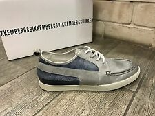 Dirk Bikkembergs Mens Shoes Fashion Sneakers Boat BKE107806 Leather New In Box