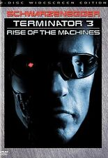 Terminator 3: Rise of the Machines (DVD, 2003, 2-Disc Set, Widescreen)