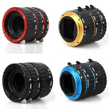 Metal TTL Auto Focus AF Macro Extension Tube Ring 5 colors fr Canon EOS EF EF-S