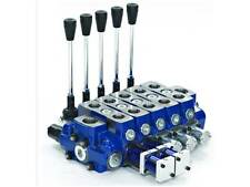 SECTIONAL HYDRAULIC 120 LPM VALVE. 1 TO 5 SECTIONS QUALITY. GARBAGE COMPACTORS