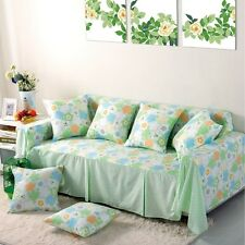 Floral Cotton Blend Slipcover Sofa Cover oAUl Protector for 1 2 3 4 seater ctdth
