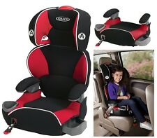 Kids Car Seat Red Baby Toddler Safety Adjustable Convertibe Booster 30 - 100 lbs
